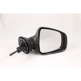 Зеркало боковое 3285 на Renault Logan, Duster, Lada Largus, черное, 2 шт. Ош