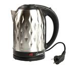 Чайник электрический HOMESTAR HS-1013, 1500 Вт, 2 л, металл, серебристый