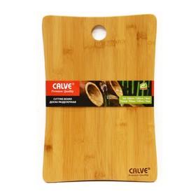 Разделочная доска из бамбука 35 х 24 х 0,9 см