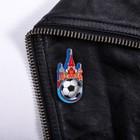 Значок «Москва. Собор Василия Блаженного. Мяч»