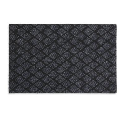 Коврик придверный влаговпитывающий «галант», 36×55 см, цвет серый - Фото 1