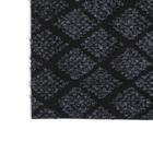 Коврик придверный влаговпитывающий «галант», 36×55 см, цвет серый - Фото 2