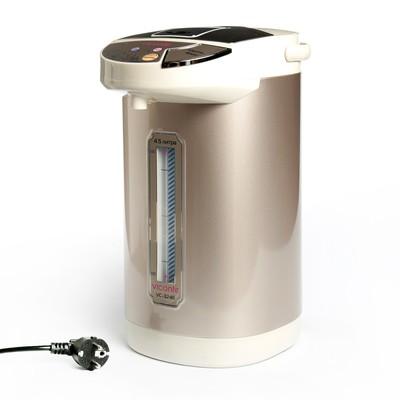 Термопот Viconte VC-3246, 900 Вт, 4.5 л, золотистый