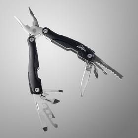 Инструмент многофункциональный 9в1 в чехле, рукоять черная Ош
