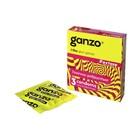 Презервативы Ganzo Extase «Точечные и ребристые», 3 шт.