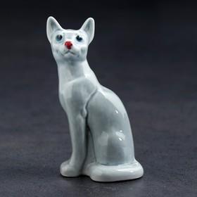 Статуэтка фарфоровая «Кошка Тайка»,10 см, микс Ош