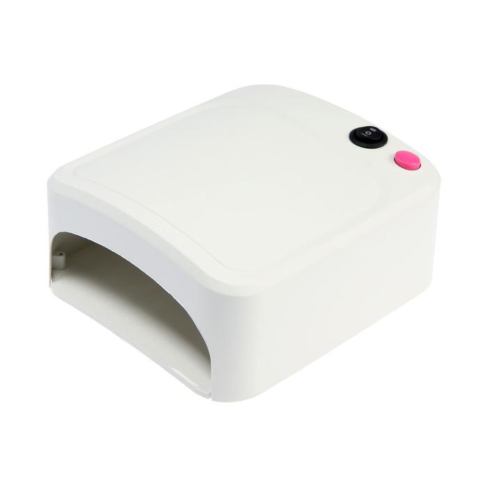 Лампа для гель-лака LuazON LUF-10, UV, 27 Вт, 220 В, белая