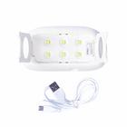 Лампа для гель-лака LuazON LUF-12, LED, 6 Вт, 6 диодов, USB, белая - Фото 3