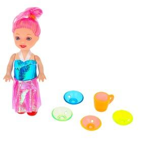 Аксессуары для кукол: набор посуды, МИКС Ош
