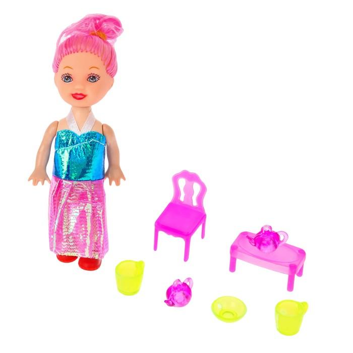 Аксессуары для кукол: мебель, посуда, МИКС