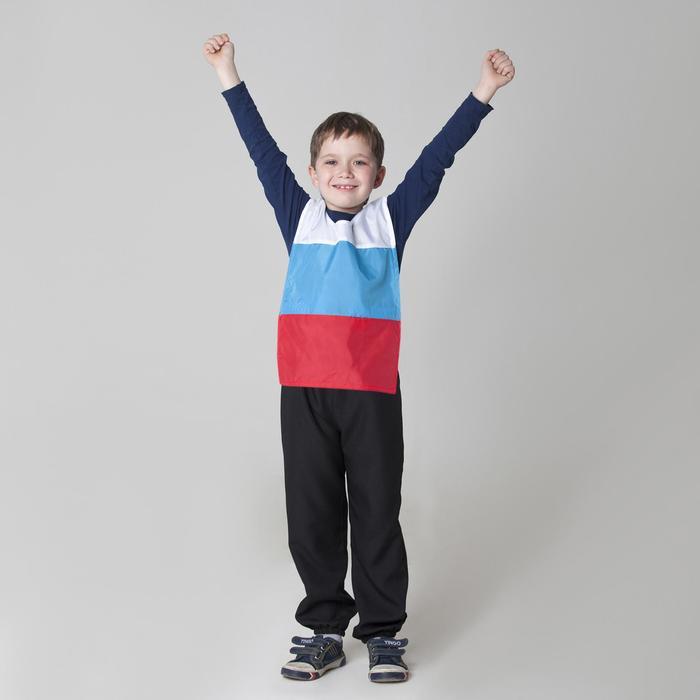 Жилет детский Россия. Триколор с водоотталкивающей пропиткой, рост 134-146 см