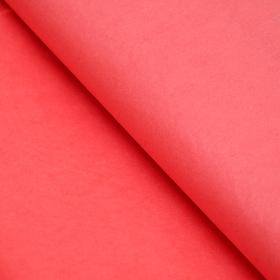 Бумага упаковочная тишью, красный, 50 см х 66 см Ош