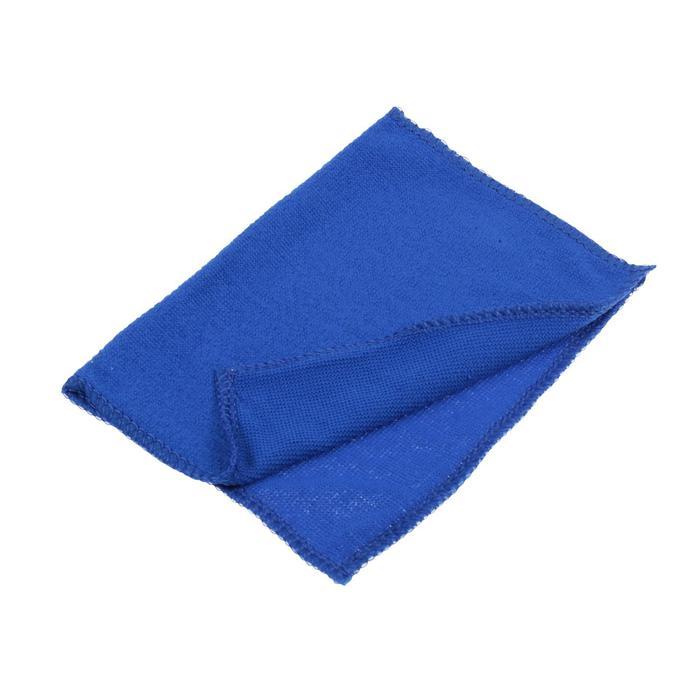Салфетка для автомобиля, микрофибра 20×30 см, синяя