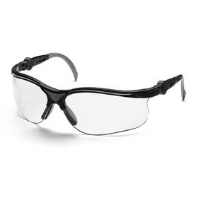 Очки защитные Husqvarna Clear X, прозрачные линзы, стойкие к царапинам, защита до 385 нм