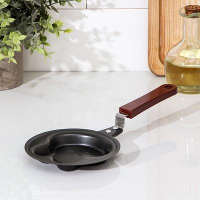 Сковорода Доляна «Заяц», d=12 см, антипригарное покрытие