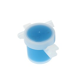 Краска акриловая WizzArt, 5 мл, голубая, матовая, МОРОЗОСТОЙКАЯ Ош