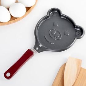 Сковорода Доляна «Свинка», d=14 см, антипригарное покрытие