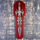 Сувенирный меч на планшете, цветное нанесение на лезвии, 52см