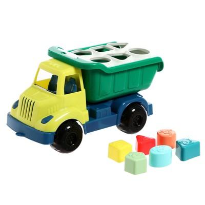 Развивающая игрушка «Грузовик» с сортером, МИКС - Фото 1