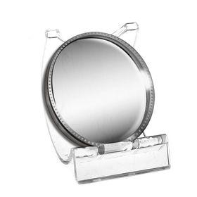 Подставка под зеркало, 4*4,5*4,5 см, оргстекло 2 мм, цвет прозрачный Ош