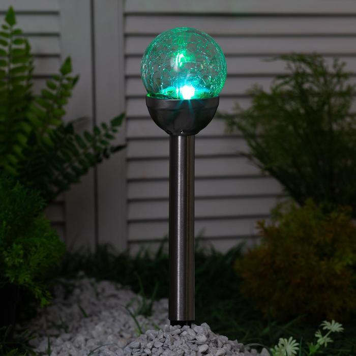 Садовый светильник на солнечной батарее Bellatrix. Серия Modern