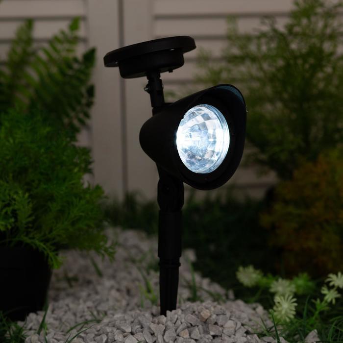 Садовый светильник на солнечной батарее Uniel FLASH