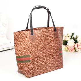Пакет Крафт сумка 35 х 24 х 10 см Ош
