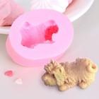 Молд силиконовый «Собака», 5,4×4,3 см - Фото 1