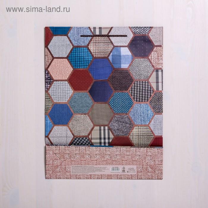 Пакет ламинированный вертикальный «Поздравляю», L 30 × 41 × 11,5 см