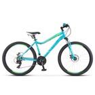 """Велосипед 26"""" Stels Miss-5000 MD, V010, цвет бирюзовый, размер 15"""""""