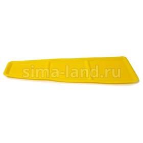 Коврик на панель приборов 'ВАЗ 2108-09-099', желтый Ош