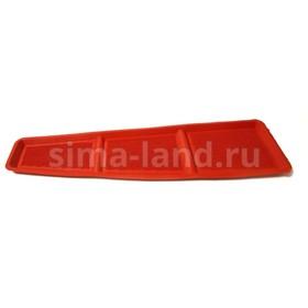 Коврик на панель приборов 'ВАЗ 2108-09-099', красный Ош