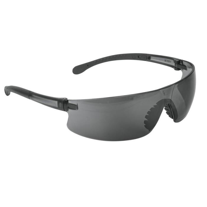 Защитные очки TRUPER LEN-LN, поликарбонат, УФ защита, защита от царапин, серые