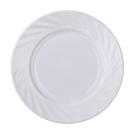 Тарелка десертная Доляна «Регал», d=17,5 см, опаловое стекло