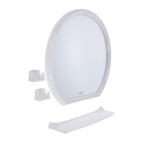 Набор для ванной комнаты Lumi ring, цвет белый Ош