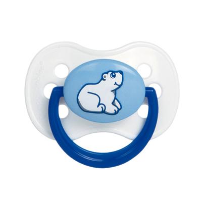 Пустышка круглая Animals, латекс, возраст от 0-6 месяцев, цвет МИКС - Фото 1