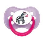 Пустышка круглая Animals, латекс, возраст от 0-6 месяцев, цвет МИКС - Фото 3