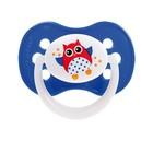 Пустышка силиконовая симметричная Owl, от 0 до 6 мес., цвет МИКС - Фото 3