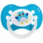 Пустышка силиконовая симметричная Owl, от 0 до 6 мес., цвет МИКС - Фото 7