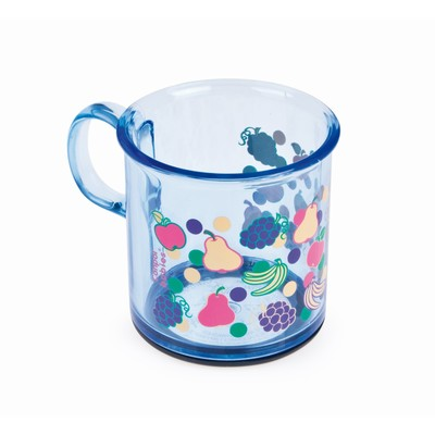 Чашка детская с антискользящим дном, 170 мл, от 12 мес., цвета МИКС - Фото 1