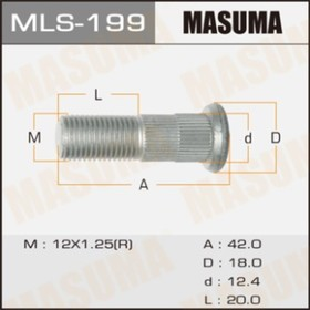 Шпилька  Masuma MLS199 Ош