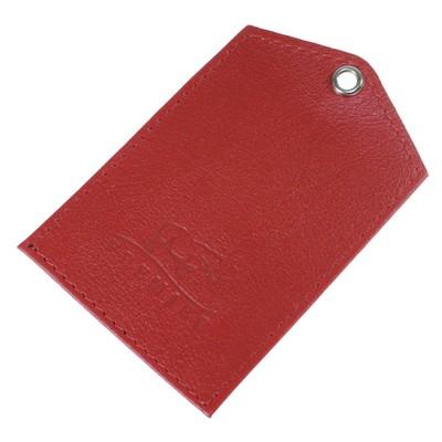 Обложка для документов, цвет красный - Фото 1