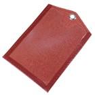 Обложка для документов, цвет красный - Фото 2