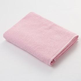 Полотенце махровое Экономь и Я 70х130 см, цв. розовый, 320 г/м²