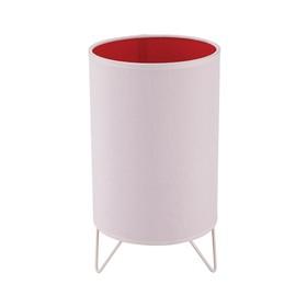 Настольная лампа Relax 1x60Вт Е27 красный 16x16x24см