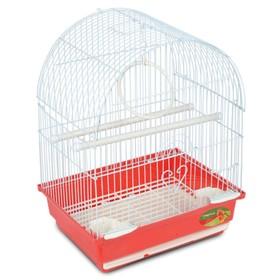 Клетка Triol  N 1000G для птиц, золото, 30*23*39 см Ош