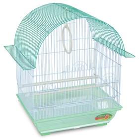 Клетка Triol  1600Z для птиц, цинк, 34.5 х 26 х 44 см, микс цветов Ош