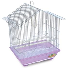 Клетка Triol  N 1601 для птиц, цинк, 34.5*26*44 см Ош