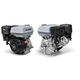 Двигатель ZONGSHEN ZS177FE, бенз., ген.катушка, 4Т, 9 л.с., 270 см3, d=25 мм, электростартер   34688 Ош