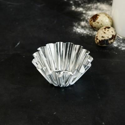 Форма для выпечки кекса, d=8, v=3,5 см - Фото 1